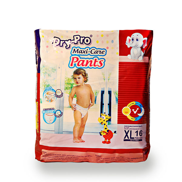 DryPro baby pants convenience pack 12-17kg 16