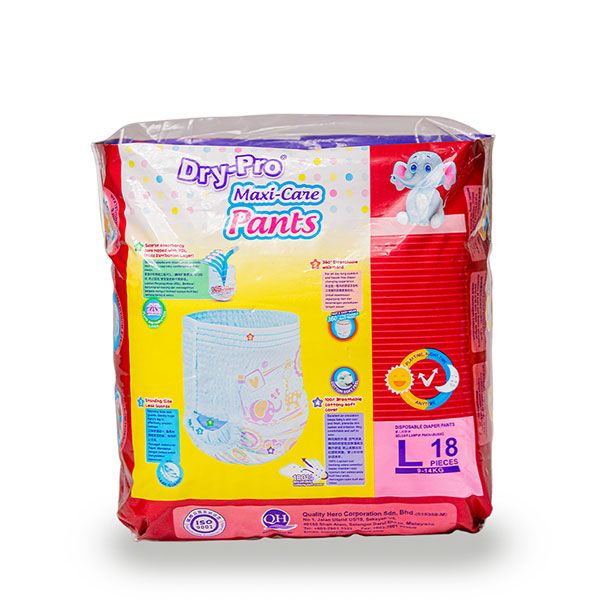 DryPro baby pants convenience pack 9-14kg 18